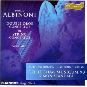 Image for 'ALBINONI: Double Oboe Concertos and Concertos for Strings, Vol. 1'