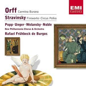 Image for 'Orff: Carmina Burana/Stravinsky: Fireworks & Circus Polka'