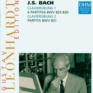Image for 'Leonhardt Edition Vol.4 - J.S. Bach: Partitas BWV 825 To 831'