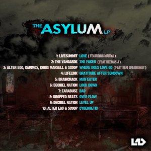 Image for 'The Asylum LP [Live & Dangerous Records]'