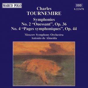 Image for 'TOURNEMIRE: Symphonies Nos. 2 and 4'