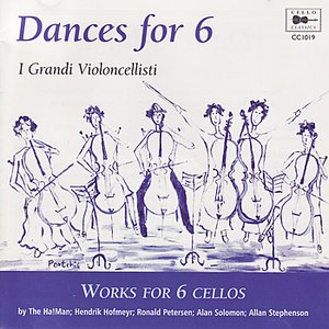 Image for 'Stephenson, Petersen, Hofmeyr, Solomon: Dances for 6'