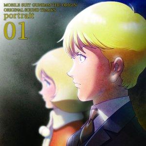 Immagine per '機動戦士ガンダム THE ORIGIN ORIGINAL SOUND TRACKS portrait 01'