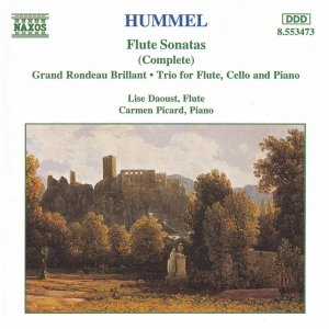 Image for 'HUMMEL: Flute Sonatas / Flute Trio / Grand Rondeau Brillant'