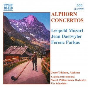 Image for 'ALPHORN CONCERTOS'