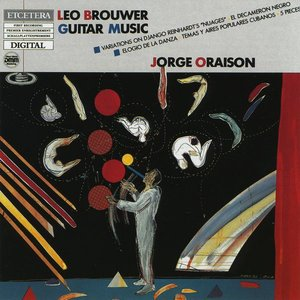 Image for 'Leo Brouwer, Guitar music, Variations on Django Reinhardt's 'Nuages' and other'