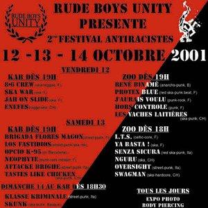 Bild för '2e Festival Antiracistes, Kab de l'Usine [LIVE]'