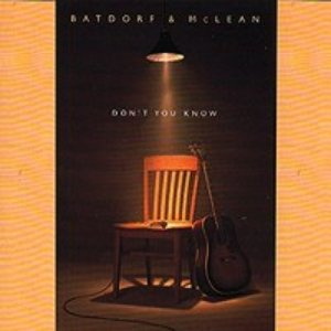 Immagine per 'Don't You Know_Batdorf and McLean'