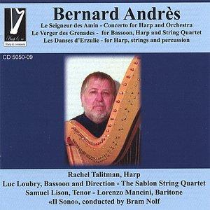 "Image for '""le Seigneur Des Amin"" Concerto For Harp And Orchestra, Rachel Talitman-harp'"