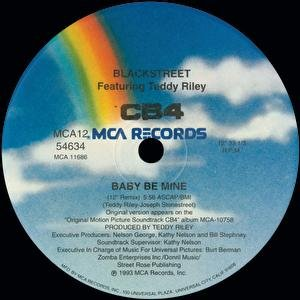 Image for 'Baby Be Mine (Club Mix)'
