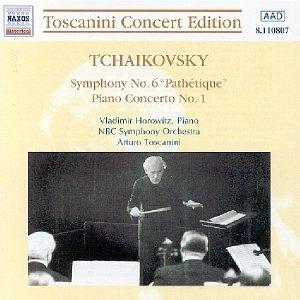 Image for 'TCHAIKOVSKY: Symphony No. 6 / Piano Concerto No. 1 (Toscanini, Horowitz) (1941)'