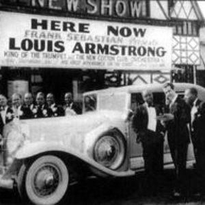 Immagine per 'Louis Armstrong & His Sebastian New Cotton Club Orchestra'