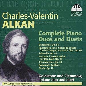 Immagine per 'Alkan: Piano Duos and Duets'