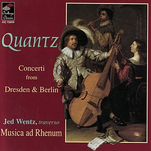 Image for 'Quantz: Concerti from Dresden & Berlin'