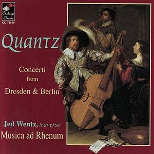 Imagem de 'Quantz: Concerti from Dresden & Berlin'