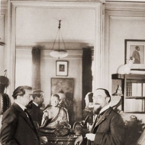 Image for 'Erik Satie and Claude DeBussy'