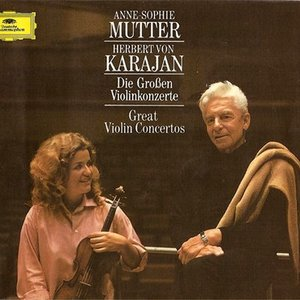 Image for 'Anne-Sophie Mutter, Berliner Philharmoniker & Herbert von Karajan'