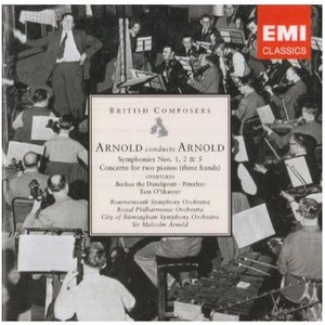 Image for 'Arnold conducts Arnold: Symphonies Nos. 1, 2 & 5 etc'