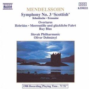 Bild für 'MENDELSSOHN : Symphony No. 3  ' Scottish ''