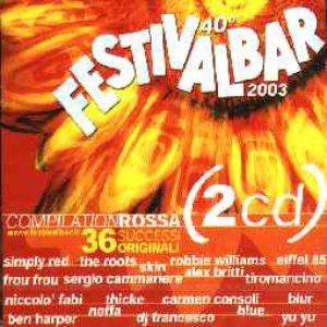 Image pour 'Festivalbar 2003 Compilation Rossa (disc 1)'