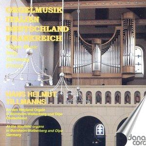 Image for 'Organ Recital: Tillmanns, Hans Helmut - Frescobaldi, G.A. / Bach, J.S. / Hanff, J.N. / Mendelssohn, Felix / Marcello, B. / Reger, M. / Brahms, J.'