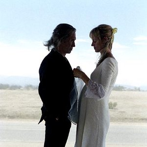 Imagen de 'David Carradine and Uma Thurman'