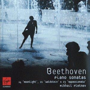 Image for 'Beethoven: Piano Sonatas 14 'Moonlight', 21 'Waldstein' & 23 'Appassionata''