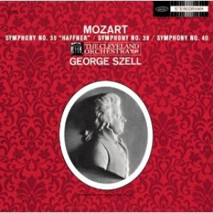Image pour 'Mozart: Symphonies No. 35 In D Major K385; No. 39 In E-Flat Major K.543 & No. 40 In G Minor K550 - Sony Classical Originals'