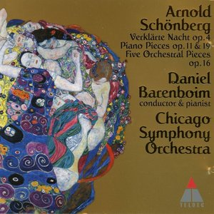 Image for 'Arnold Schoenberg - Verklaerte Nacht, Piano & Orchestral Pieces Opp.11, 16, 19; Busoni (arr.) Op.11'