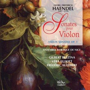 Image for 'Haëndel : Intégrale des sonates pour violon, op. 1'