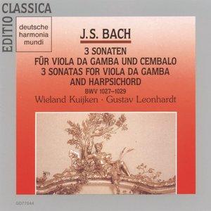 Image for 'Sonata for Viola da gamba and Harpsichord in G major, BWV 1027/Allegro moderato'