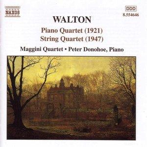Image for 'WALTON: String Quartet / Piano Quartet'