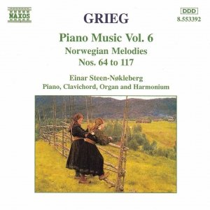 Image for 'GRIEG: Norwegian Melodies Nos. 64 - 117'