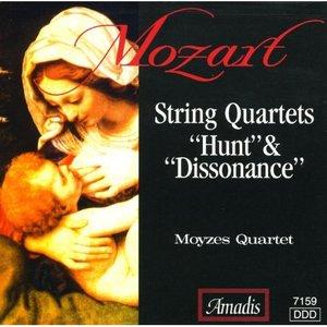 """Image for 'Mozart: String Quartets Nos. 17, """"Hunt"""" and 19, """"Dissonance""""'"""