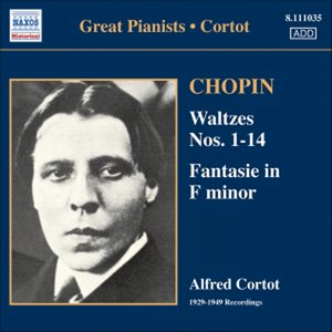 Bild för 'CHOPIN: Waltzes Nos. 1-14 (Cortot) (1933-1949)'