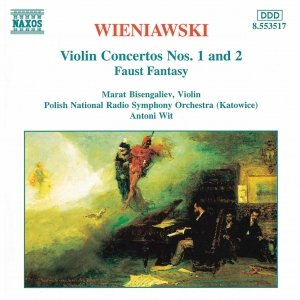 Image for 'WIENIAWSKI: Violin Concertos Nos. 1 and 2 / Faust Fantasy'