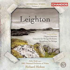 Image for 'Leighton, K.: Orchestral Music, Vol. 1 - Symphony for Strings / Organ Concerto / Concerto for String Orchestra'