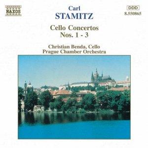 Image for 'STAMITZ, C.: Cello Concertos Nos. 1-3'