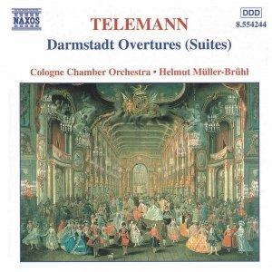 Immagine per 'TELEMANN: Darmstadt Overtures (Suites)'