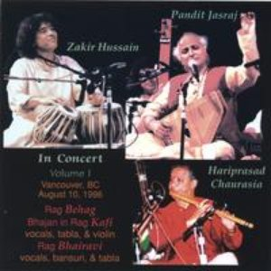 Image for 'Pandit Jasraj, Hariprasad Chaurasia, Zakir Hussain, Kala Ramnath'