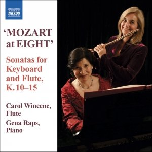 "Image for 'MOZART: ""At Eight"" - Sonatas for Keyboard and Flute, K.10-15'"