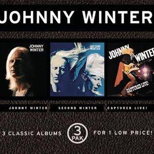 Bild für 'Johnny Winter/Second Winter/Captured Live'