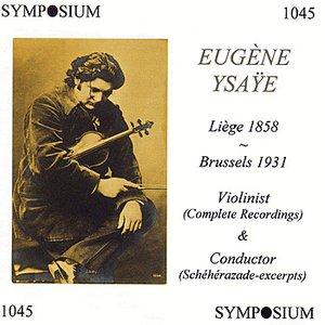 Image for 'Eugène Ysaÿe'