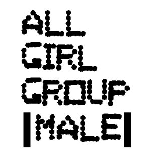 Image for 'All-Girl Group (Male)'