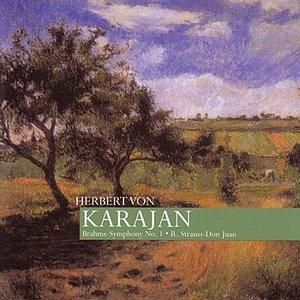 Image for 'Karajan: Brahms - Symphony No. 1, R. Strauss - Don Juan'