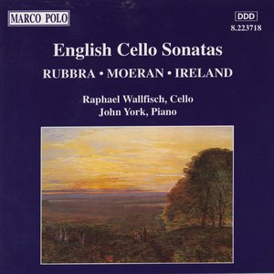 Image for 'English Cello Sonatas'