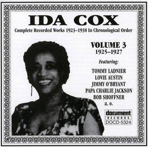 Image for 'Ida Cox Vol. 3 1925-1927'