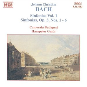 Image for 'Bach, J.C.: Sinfonias, Vol. 1'