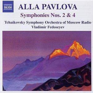 Image pour 'PAVLOVA: Symphonies Nos. 2 and 4'