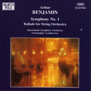 Image for 'BENJAMIN: Symphony No. 1 / Ballade for String Orchestra'